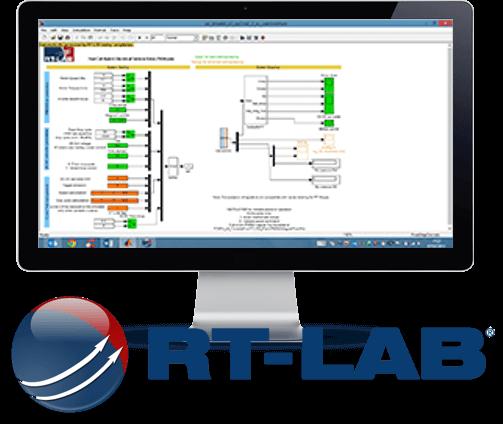RT-LAB_Screenshot and logo