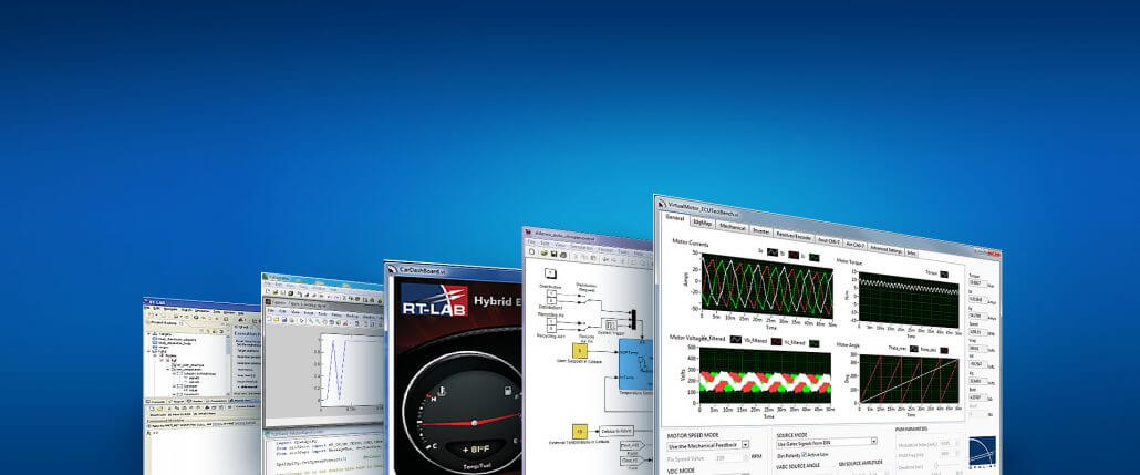 Engineering Simulation Software Real Time Software Suite