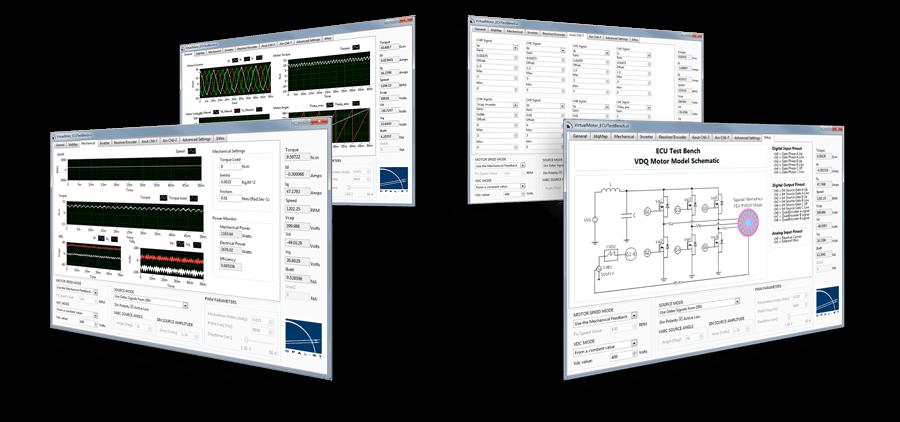 EV simulator │ Electric motor simulation software │ HEV