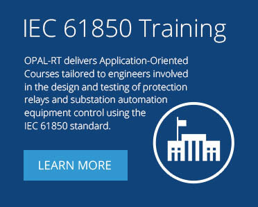 IEC 61850 Standard | GOOSE and Sampled Value Protocols | OPAL-RT