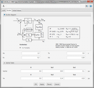 IEEE Machine Controls Library - Exciter