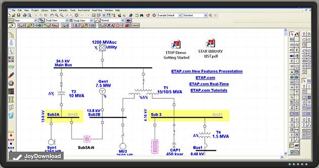 EMS SCADA │ Electromechanical real-time simulation